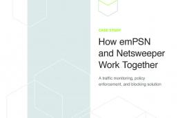 emPSN and Netsweeper