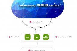 NS Cloud flow diagram