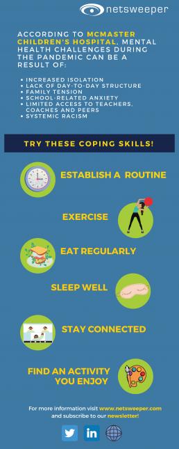 coping skills infographic