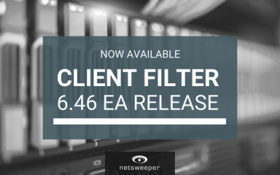 Now Available: Client Filter 4.64 EA Release