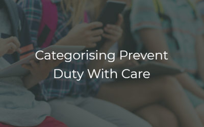 Categorising Prevent Duty With Care