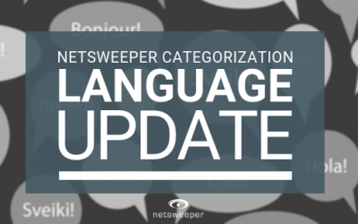 Netsweeper Categorization Language Updates September 2018