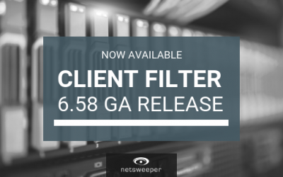Now Available: Client Filter 6.58 GA Release