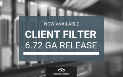 Now Available: Netsweeper Client Filter 6.72 GA Release