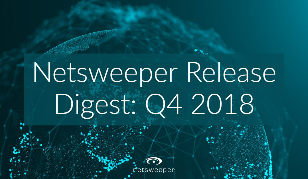 Netsweeper Release Digest: Q4 2018