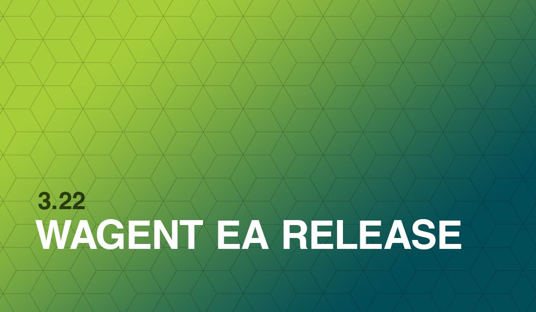 WAgent 3.22 Release