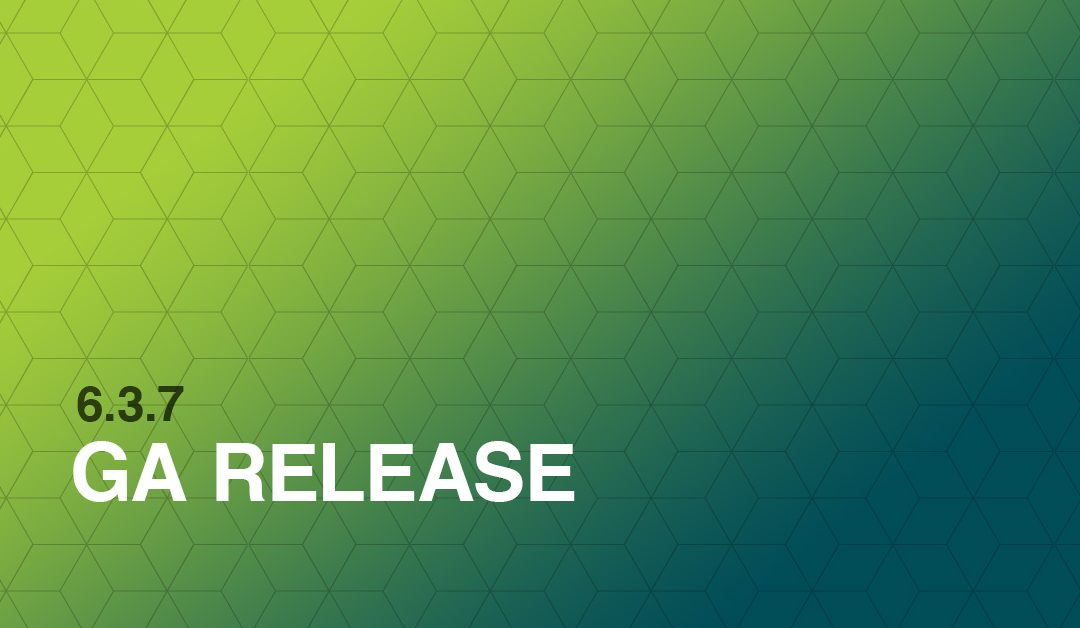 6.3.7 GA Release