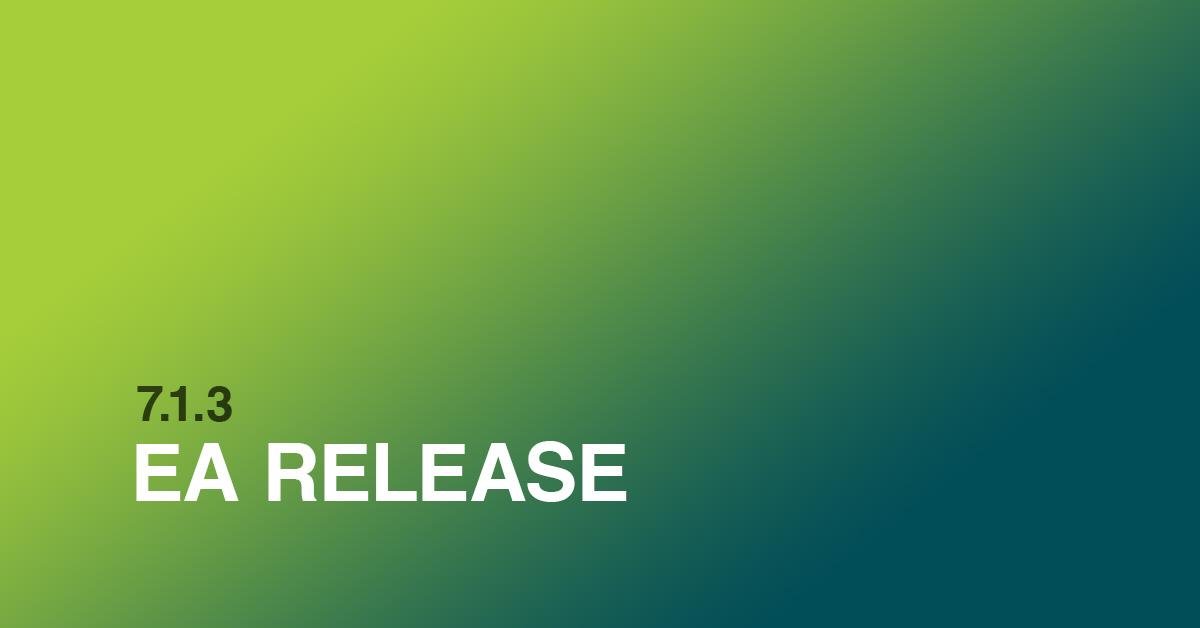 7.1.3 EA Release
